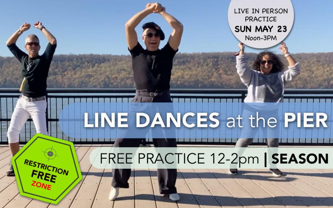 Line Dances at the Pier | PRACTICE SESSIONS