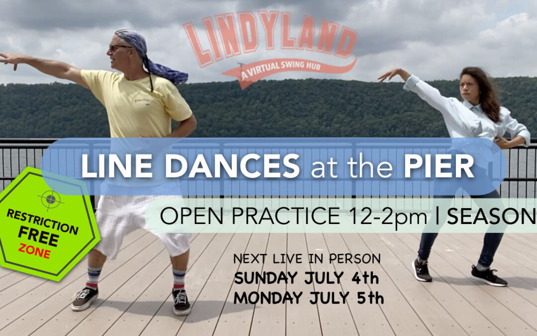 IN PERSON PRACTICE SESSIONS   Line Dances at the Pier